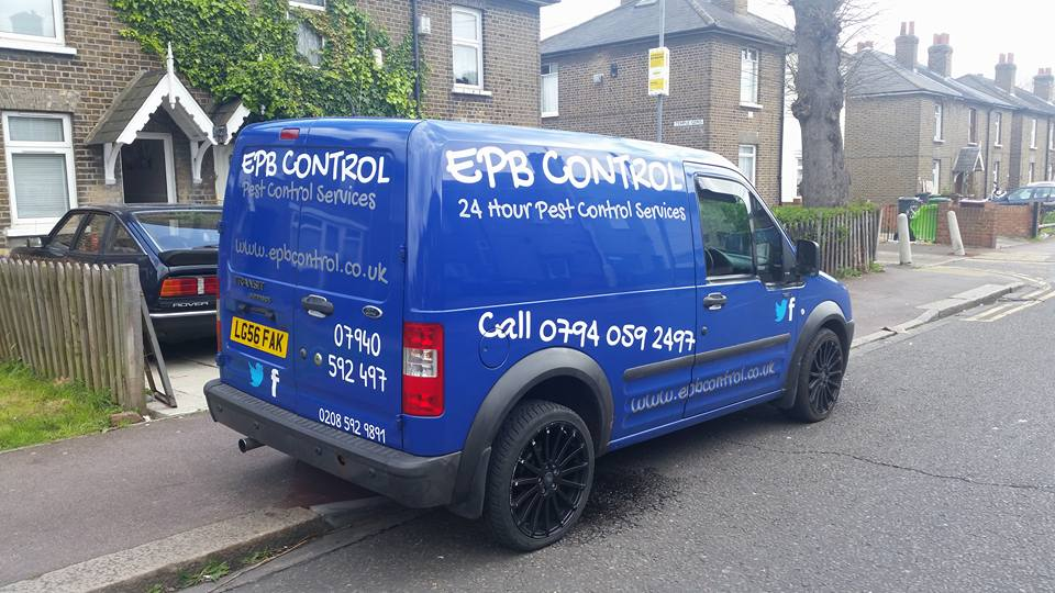 Essex Pest Control Fully Equipped Van