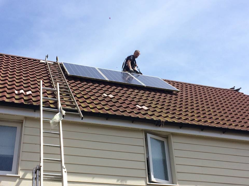 Solar panel proofing London